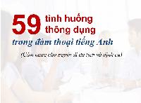 Ebook: 59 tình huống thông dụng trong giao tiếp tiếng Anh