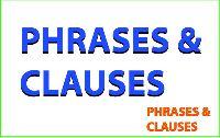 So sánh và phân biệt mệnh đề với cụm từ